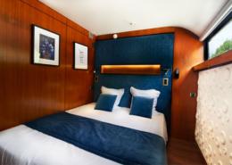 Une chambre double sur le VIP Paris Yacht