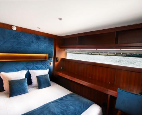 Chambre double avec vue sur Seine